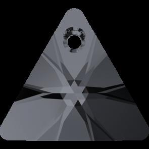 Pandantiv Swarovski 6628 XILION TRIANGLE PENDANT Crystal Silver Night (001 SINI) 8 mm