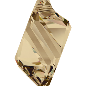 Pandantiv Swarovski 6650 CUBIST PENDANT Crystal Golden Shadow (001 GSHA) 22 mm