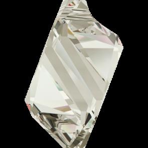 Pandantiv Swarovski 6650 CUBIST PENDANT Crystal Silver Shade (001 SSHA) 22 mm