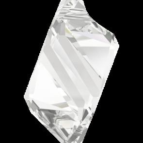 Pandantiv Swarovski 6650 CUBIST PENDANT Crystal (001) 22 mm