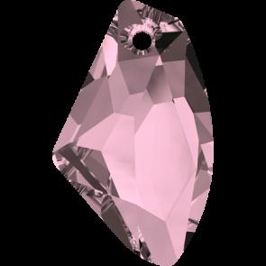 Pandantiv Swarovski 6656 GALACTIC VERTICAL Crystal Antique Pink (001 ANTP) 19 mm