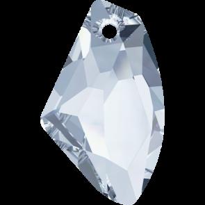 Pandantiv Swarovski 6656 GALACTIC VERTICAL Crystal Blue Shade (001 BLSH) 19 mm