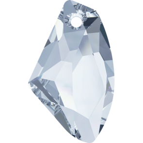 Pandantiv Swarovski 6656 GALACTIC VERTICAL Crystal Blue Shade (001 BLSH) 27 mm