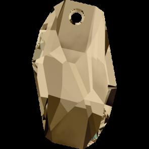 Pandantiv Swarovski 6673 METEOR PENDANT Crystal Golden Shadow (001 GSHA) 18 mm