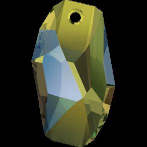 Pandantiv Swarovski 6673 METEOR PENDANT Crystal Iridescent Green (001 IRIG) 18 mm