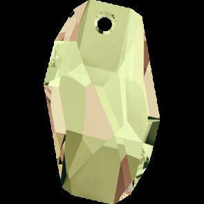 Pandantiv Swarovski 6673 METEOR PENDANT Crystal Luminous Green (001 LUMG) 28 mm