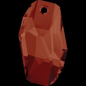 Pandantiv Swarovski 6673 METEOR PENDANT Crystal Red Magma (001 REDM) 18 mm