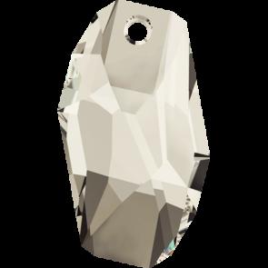 Pandantiv Swarovski 6673 METEOR PENDANT Crystal Silver Shade (001 SSHA) 38 mm