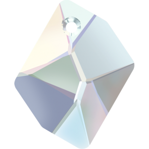 Pandantiv Swarovski 6680 COSMIC PENDANT Crystal AB (001 AB) 20 mm