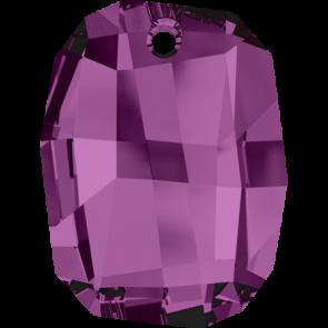 Pandantiv Swarovski 6685 GRAPHIC PENDANT Amethyst (204) 19 mm
