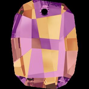 Pandantiv Swarovski 6685 GRAPHIC PENDANT Crystal Astral Pink (001 API) 19 mm