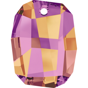 Pandantiv Swarovski 6685 GRAPHIC PENDANT Crystal Astral Pink (001 API) 28 mm