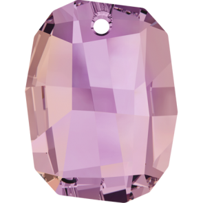 Pandantiv Swarovski 6685 GRAPHIC PENDANT Crystal Lilac Shadow (001 LISH) 28 mm