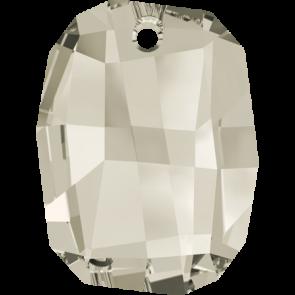 Pandantiv Swarovski 6685 GRAPHIC PENDANT Crystal Silver Shade (001 SSHA) 28 mm