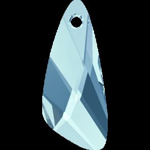 Pandantiv Swarovski 6690 WING PENDANT Aquamarine (202) 27 mm