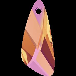 Pandantiv Swarovski 6690 WING PENDANT Crystal Astral Pink (001 API) 23 mm
