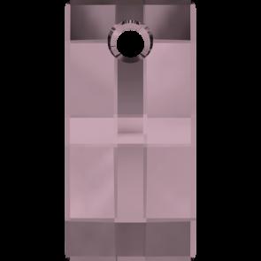 Pandantiv Swarovski 6696 URBAN PENDANT Crystal Antique Pink (001 ANTP) 20 mm