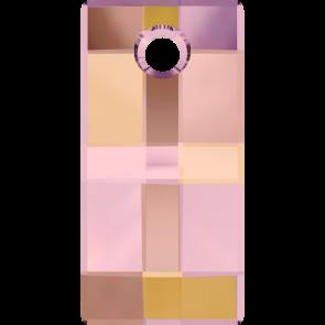 Pandantiv Swarovski 6696 URBAN PENDANT Crystal Astral Pink (001 API) 20 mm