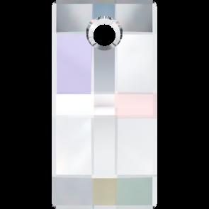 Pandantiv Swarovski 6696 URBAN PENDANT Crystal AB (001 AB) 20 mm