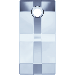 Pandantiv Swarovski 6696 URBAN PENDANT Crystal Blue Shade (001 BLSH) 20 mm