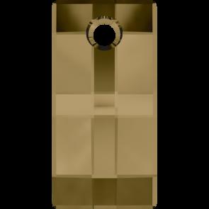 Pandantiv Swarovski 6696 URBAN PENDANT Crystal Bronze Shade (001 BRSH) 30 mm