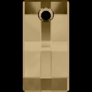 Pandantiv Swarovski 6696 URBAN PENDANT Crystal Golden Shadow (001 GSHA) 20 mm