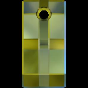 Pandantiv Swarovski 6696 URBAN PENDANT Crystal Iridescent Green (001 IRIG) 30 mm