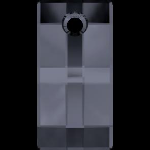 Pandantiv Swarovski 6696 URBAN PENDANT Crystal Silver Night (001 SINI) 20 mm