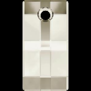 Pandantiv Swarovski 6696 URBAN PENDANT Crystal Silver Shade (001 SSHA) 20 mm