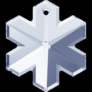 Pandantiv Swarovski 6704 SNOWFLAKE Crystal Blue Shade (001 BLSH) 20 mm