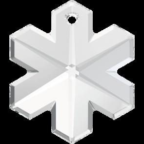 Pandantiv Swarovski 6704 SNOWFLAKE Crystal (001) 30 mm