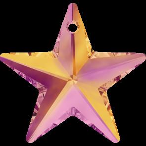 Pandantiv Swarovski 6714 STAR PENDANT Crystal Astral Pink (001 API) 40 mm