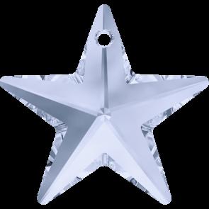 Pandantiv Swarovski 6714 STAR PENDANT Crystal Blue Shade (001 BLSH) 28 mm