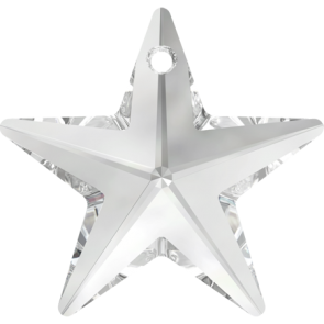 Pandantiv Swarovski 6714 STAR PENDANT Crystal (001) 28 mm
