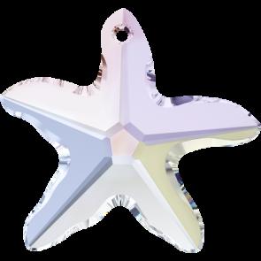 Pandantiv Swarovski 6721 STARFISH PENDANT Crystal AB (001 AB) 28 mm - Stea de Mare