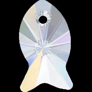 Pandantiv Swarovski 6727 FISH PENDANT Crystal AB (001 AB) 18 mm