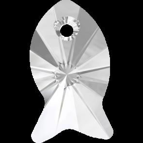 Pandantiv Swarovski 6727 FISH PENDANT Crystal (001) 18 mm