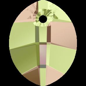 Pandantiv Swarovski 6734 Crystal Luminous Green (001 LUMG) 14 mm