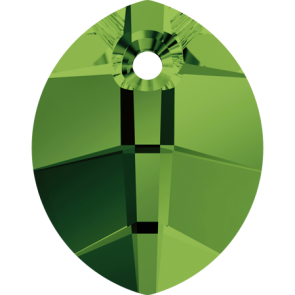 Pandantiv Swarovski 6734 Dark Moss Green (260) 14 mm