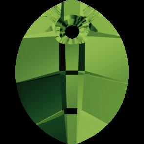 Pandantiv Swarovski 6734 Dark Moss Green (260) 23 mm