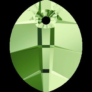 Pandantiv Swarovski 6734 Peridot (214) 23 mm