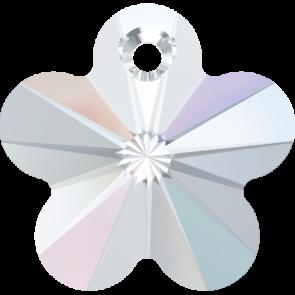 Pandantiv Swarovski 6744 FLOWER PENDANT Crystal AB (001 AB) 14 mm