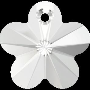 Pandantiv Swarovski 6744 FLOWER PENDANT Crystal (001) 12 mm
