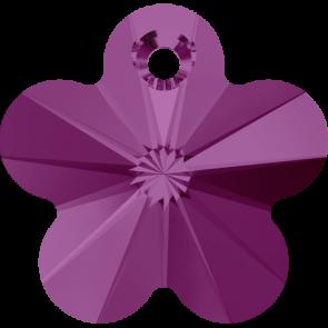 Pandantiv Swarovski 6744 FLOWER PENDANT Fuchsia (502) 14 mm