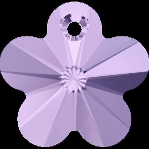 Pandantiv Swarovski 6744 FLOWER PENDANT Violet (371) 14 mm