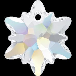Pandantiv Swarovski 6748 EDELWEISS PENDANT Crystal AB (001 AB) 18 mm