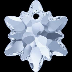 Pandantiv Swarovski 6748 EDELWEISS PENDANT Crystal Blue Shade (001 BLSH) 14 mm