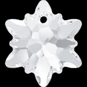 Pandantiv Swarovski 6748 EDELWEISS PENDANT Crystal (001) 28 mm