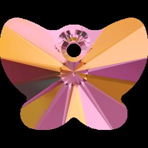 Pandantiv Swarovski 6754 BUTTERFLY PENDANT Crystal Astral Pink (001 API) 18 mm