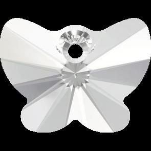 Pandantiv Swarovski 6754 BUTTERFLY PENDANT Crystal (001) 18 mm